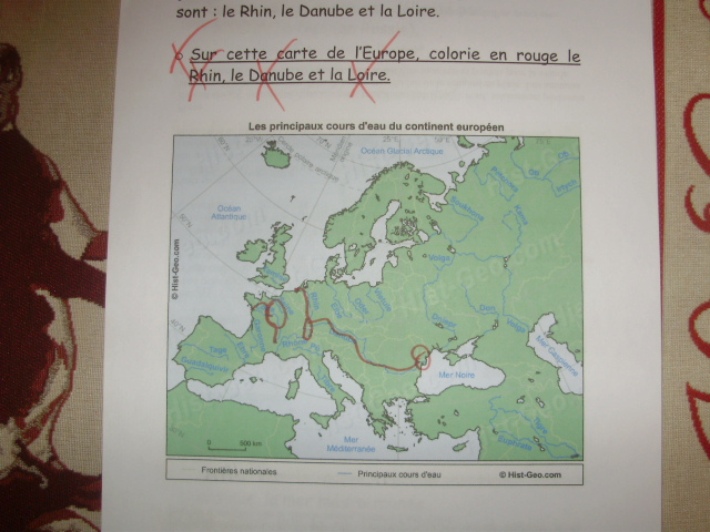 Carte De Leurope Pour Ce2.Geographie Le Petit Roi Enfant Autiste