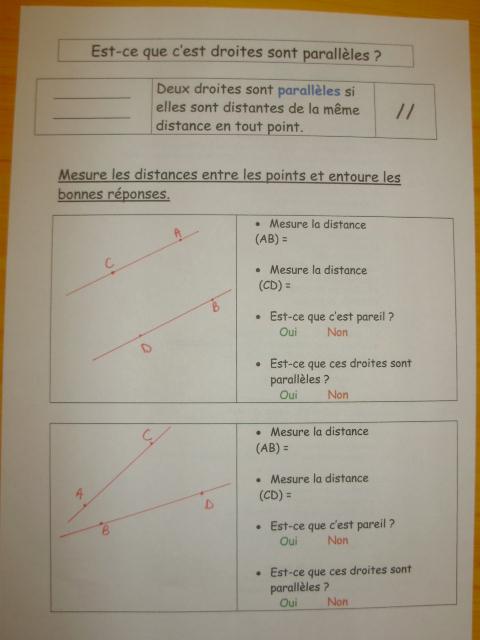 mesures leçon cm1
