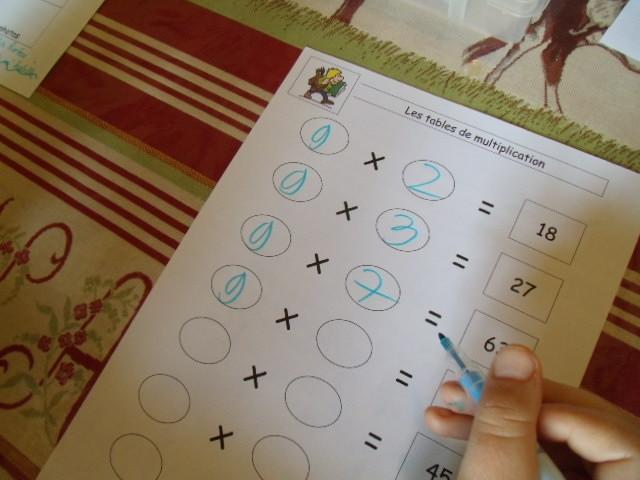 trucs table de multiplication